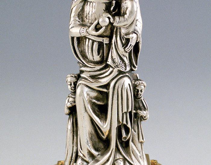 Icono Ref.276 Virgen de Kazan. Esmalte pintado. 22x27cm