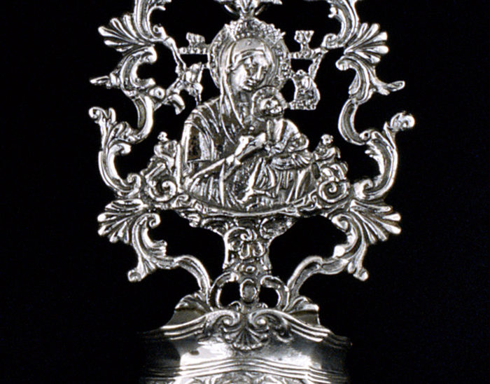 Pililla Ref.452 Virgen del perpetuo socorro. 9x5cm