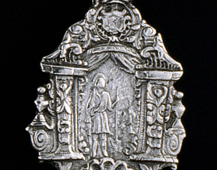 Medalla Ref.484 San Isidro 6x4cm