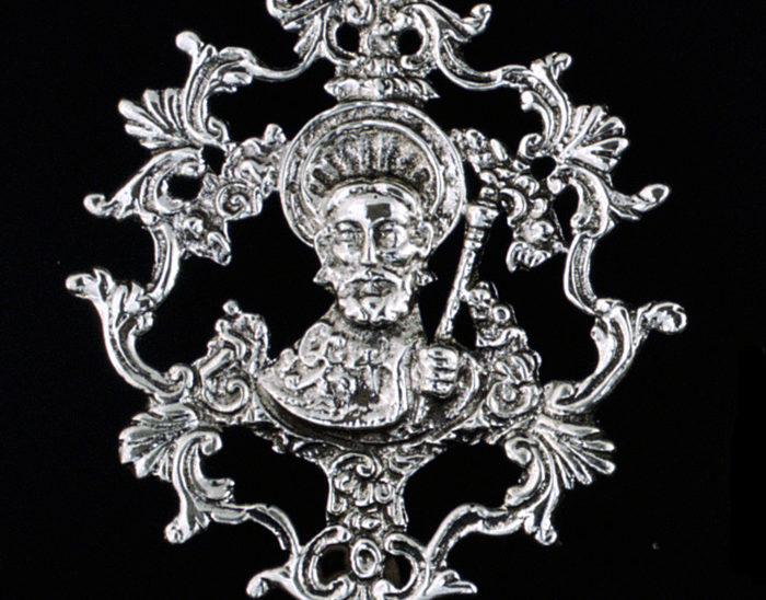 Medalla Ref.489 Santiago Apostol 8x6cm