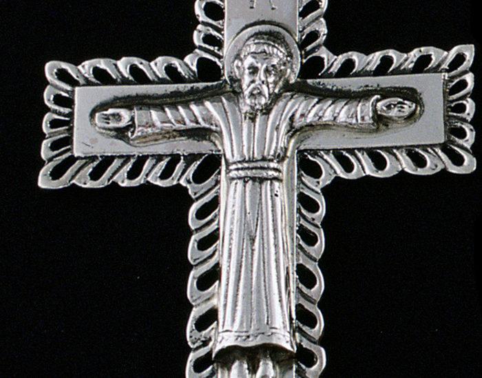 Cruz Ref.583 Cruz cristo bizantino. 10x6cm.